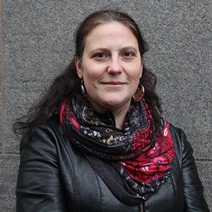 Porträtt av gruppledare Andrea