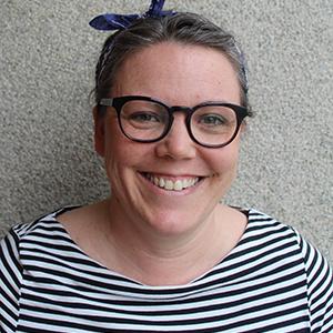 Porträtt av gruppledare Karolina